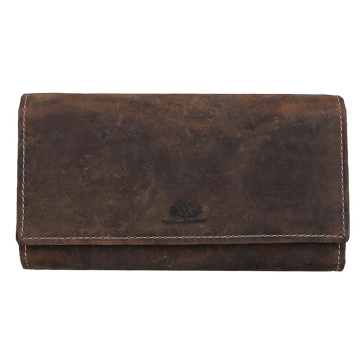 4bea77b778443 Greenburry Vintage Damen Leder Geldbörse Portemonnaie 1669-25