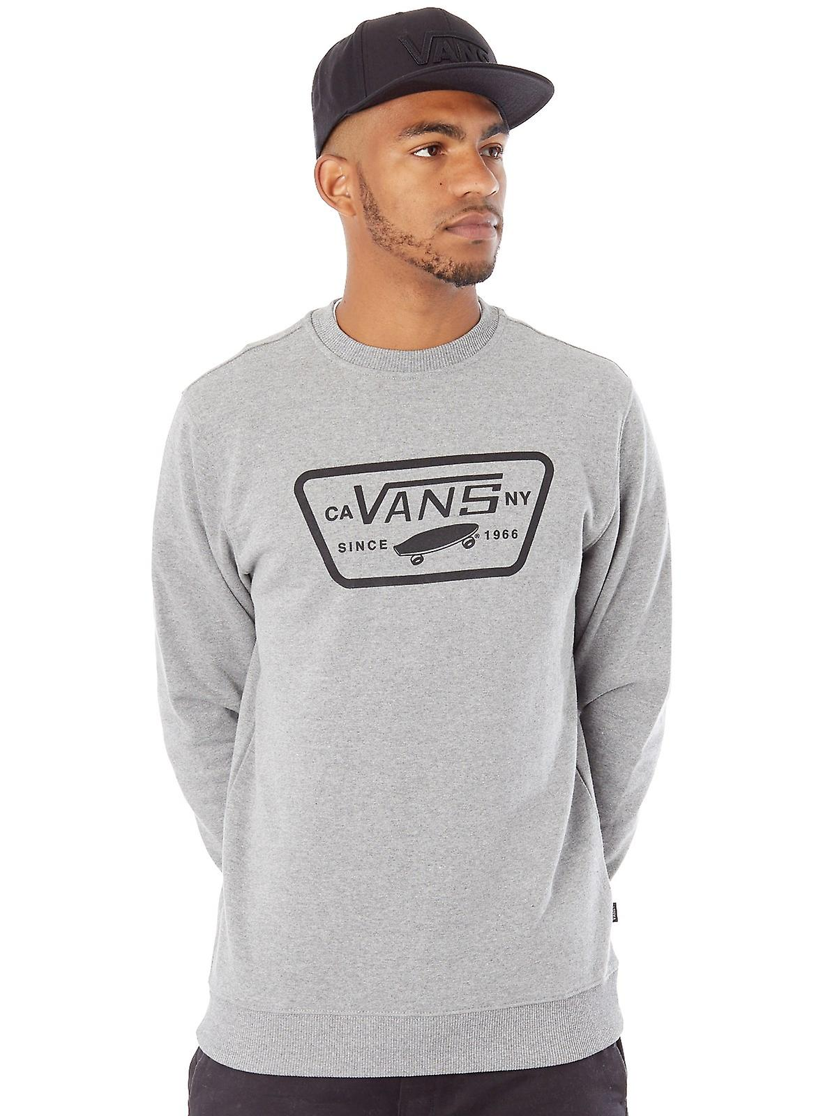 0712f0536845 Vans Concrete Heather Full Patch Sweater