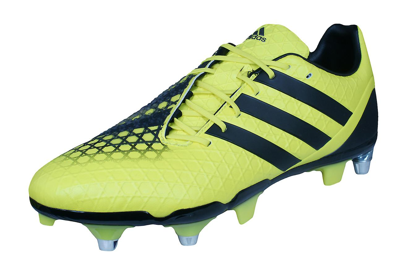2825184f6d9c adidas Predator Incurza SG Mens Rugby Boots - Yellow and Black | Fruugo