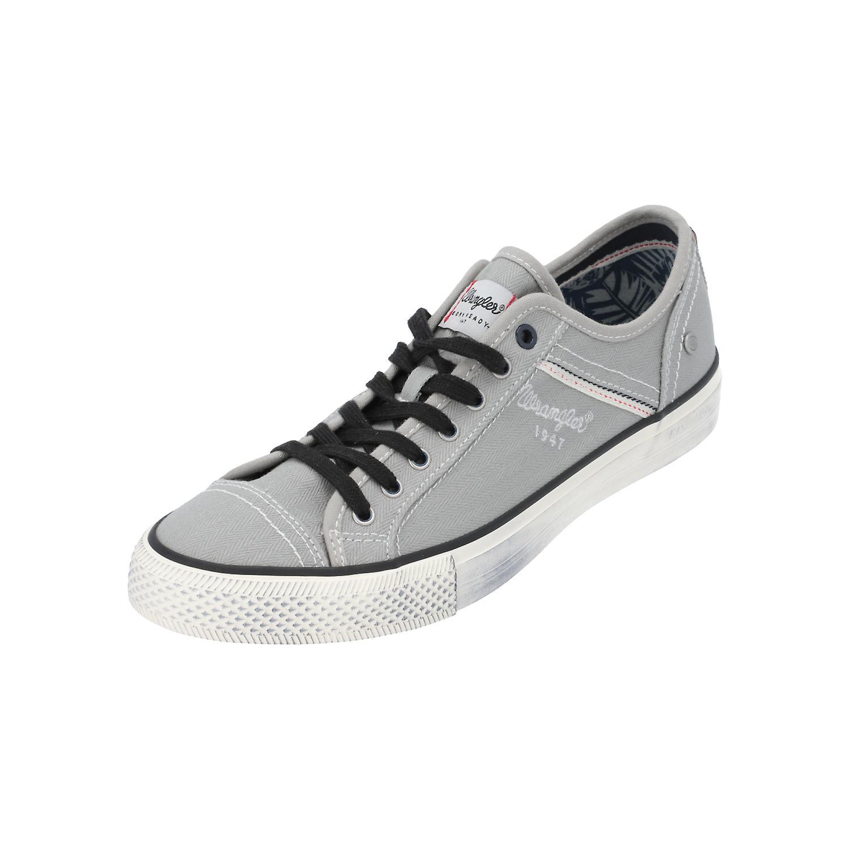 Lauf Wrangler Canvas Sport Grau Turn Herren Neu Sneaker Low Schuhe Starry oWQerdBExC