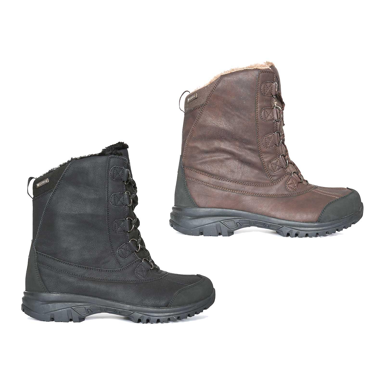 d616cd01d11 Trespass Mens Kareem Winter Snow Boots