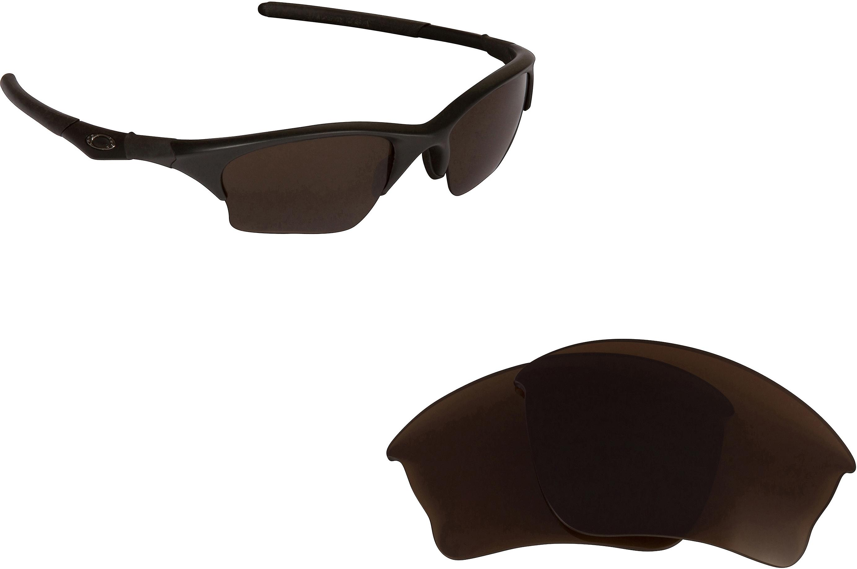 b1a51fee0 Half Jacket XLJ Replacement Lenses Bronze Brown & Ruby Red by SEEK fits  OAKLEY