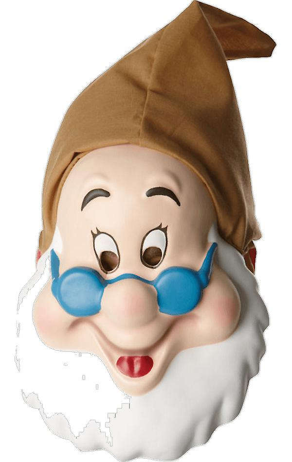 Adult Doc Mask Snow White & The Seven Dwarfs Fancy Dress Costume Accessory