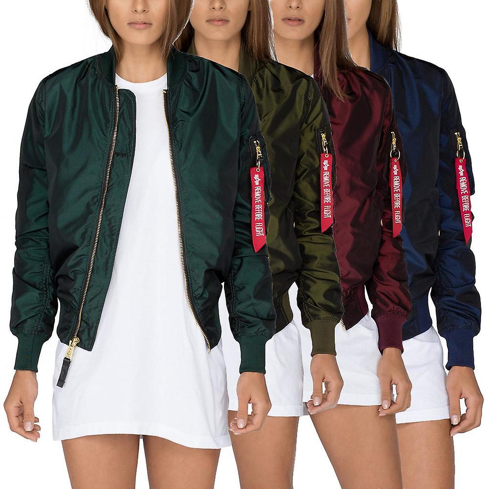 4d66a0591 Alpha industries ladies jacket MA-1 LW PM Iridium Wmn