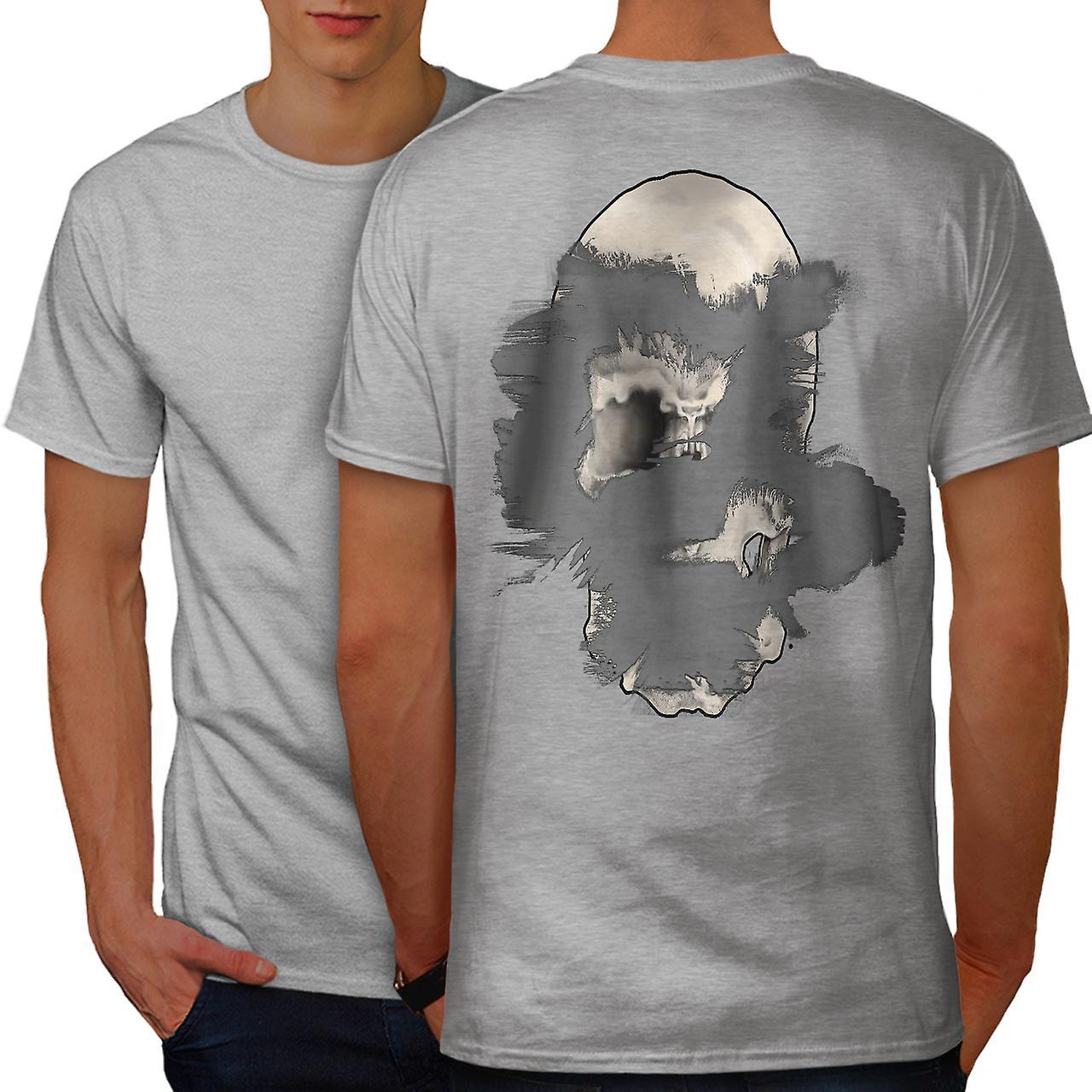 Anatomie Metal-Rock Männer graut-Hemd zurück | Wellcoda | Fruugo