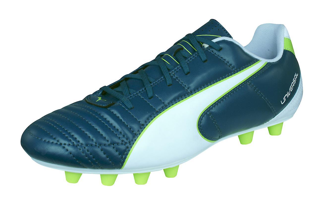 9262c233f29 Mens Puma Firm Ground Football Boots Universal II FG Soccer Cleats - Blue