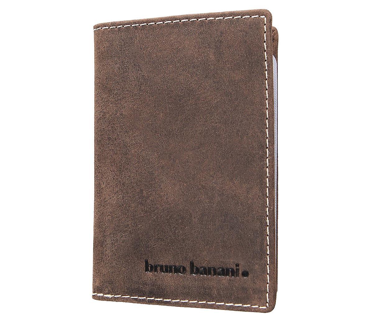 Bruno Banani Kreditkartenetui Kartenetui Visitenkartenetui Leder D Braun 1246