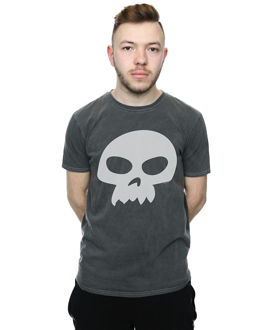 f767d5c674bfeb Disney Men's Toy Story Sid's Skull Washed T-Shirt   Fruugo