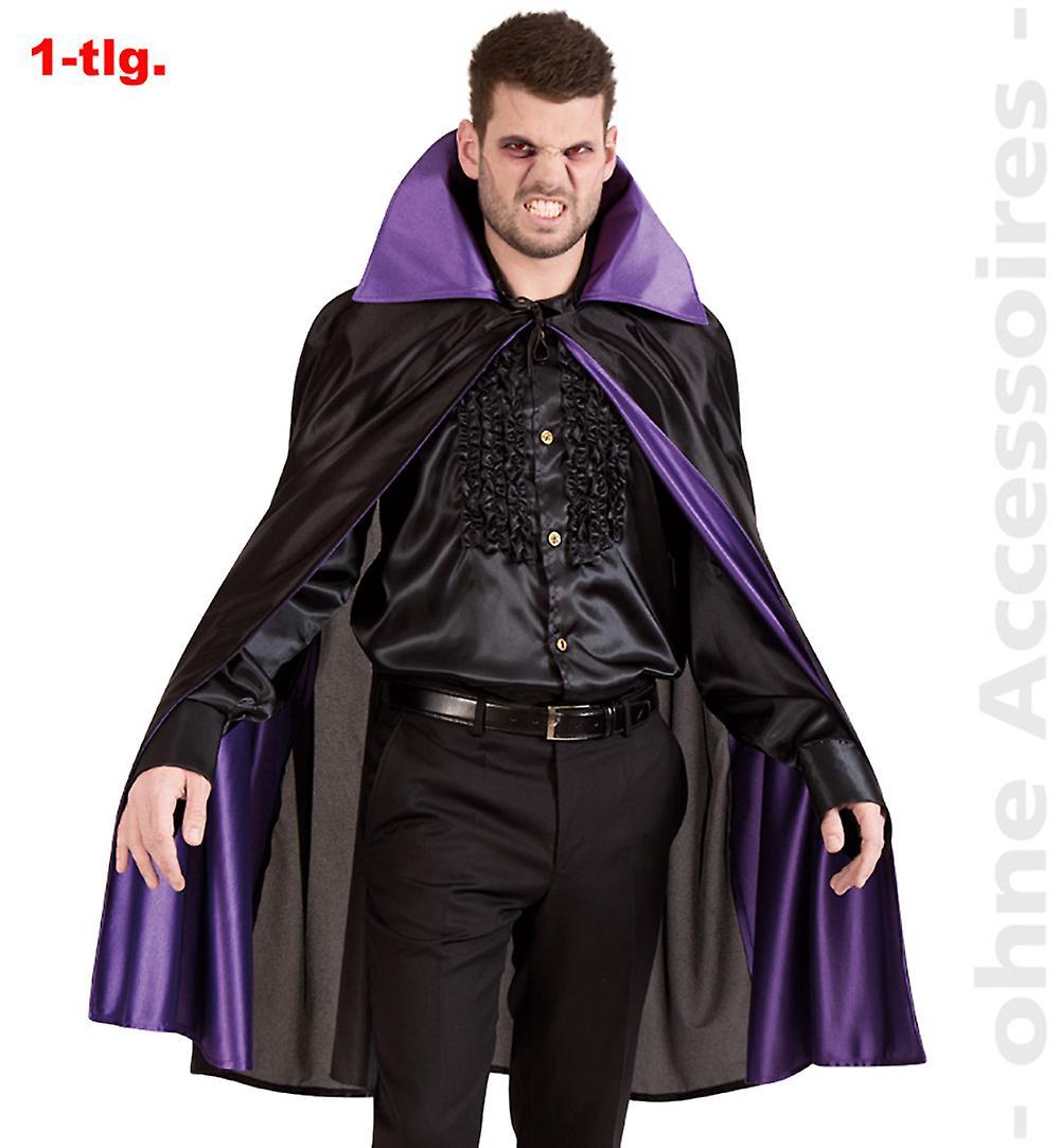 Vampyr vampyr mantel herr kostym greve Dracula mäns Cape kostym  694f54114a11c
