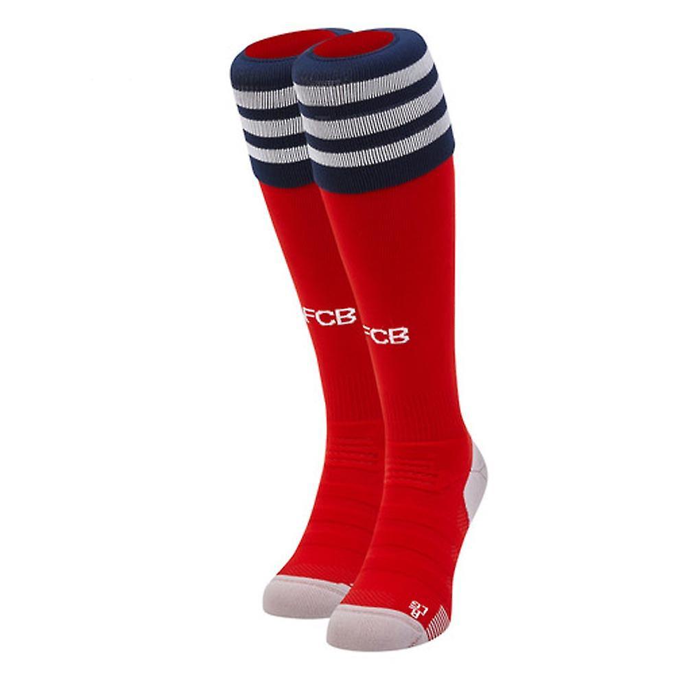 2018 2019 Bayern München Home Adidas Fußball Socken (rot)