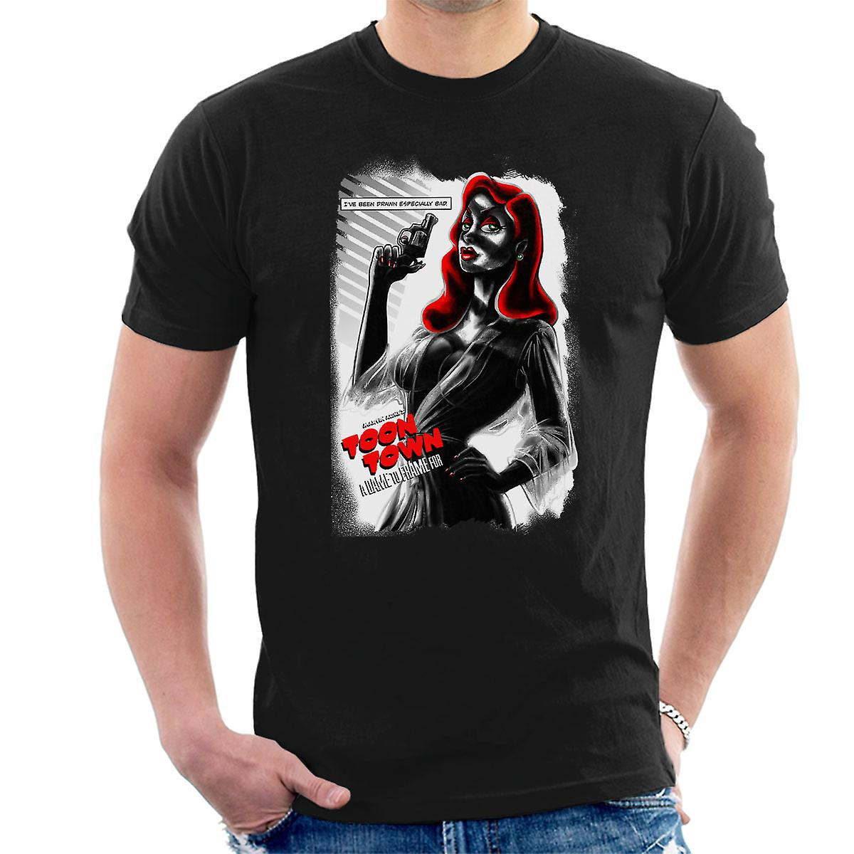 eine dame mit rahmen f r jessica rabbit herren t shirt. Black Bedroom Furniture Sets. Home Design Ideas