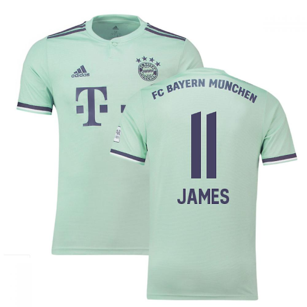 5980f6b127e 2018-19 Bayern Munich Away Shirt (James 11) | Fruugo