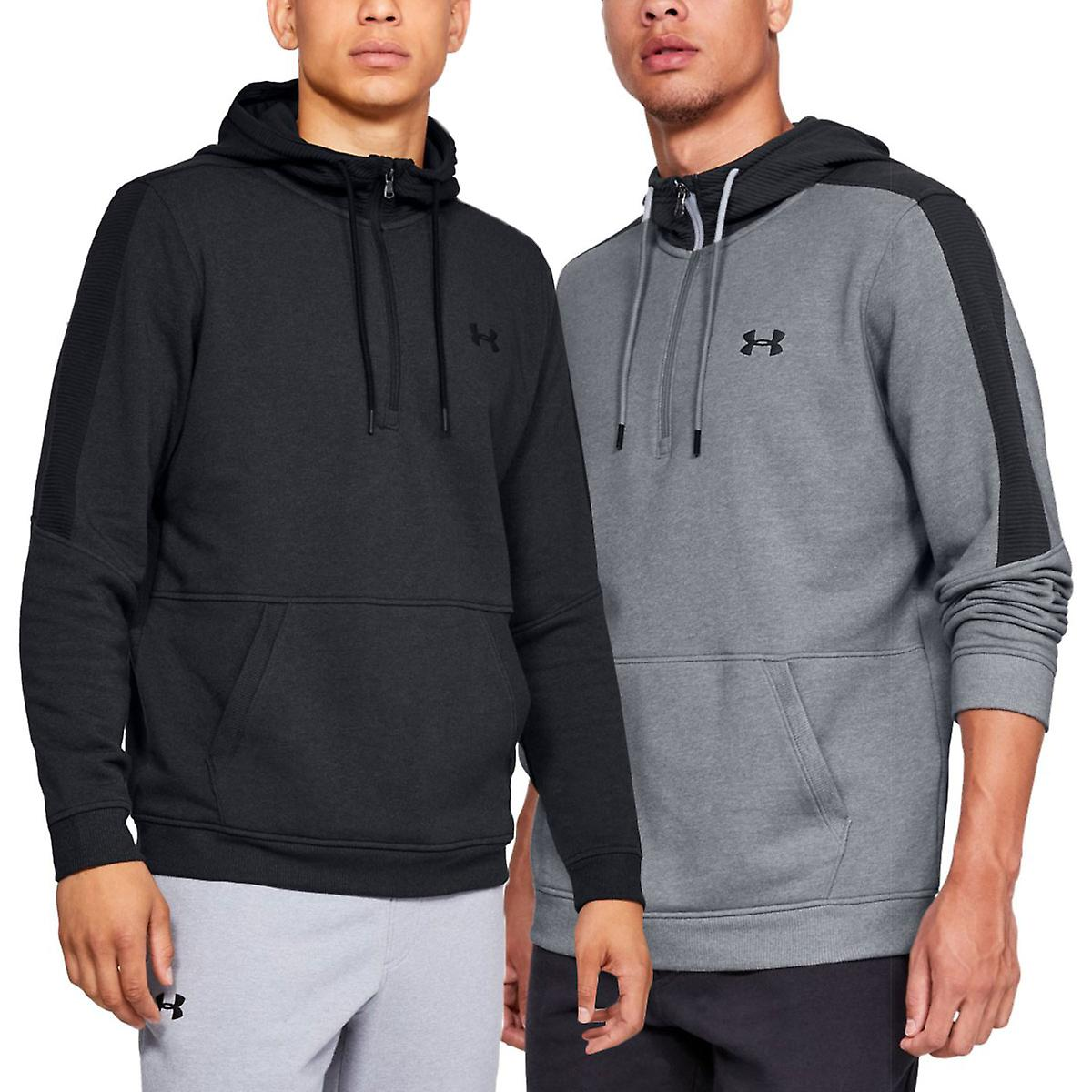 Hoodies & Sweatshirts Under Armour Mens Micro Thread Fleece