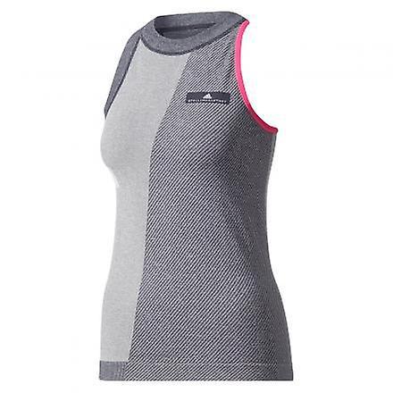 Adidas Stella McCartney Barricade tank top grey pink ladies BQ6965