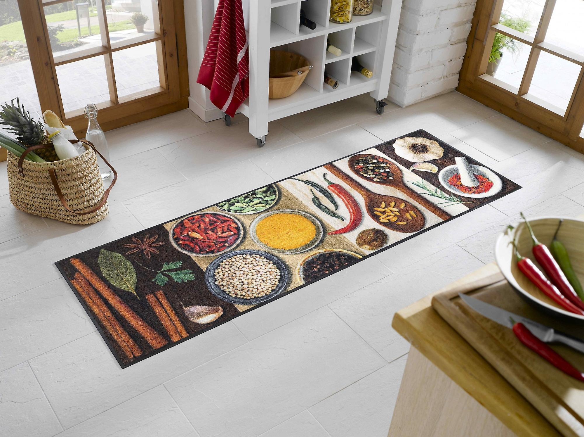 Tapijt Voor Keuken : Wassen droge keuken tapijt hete specerijen wasbaar tapijt fruugo