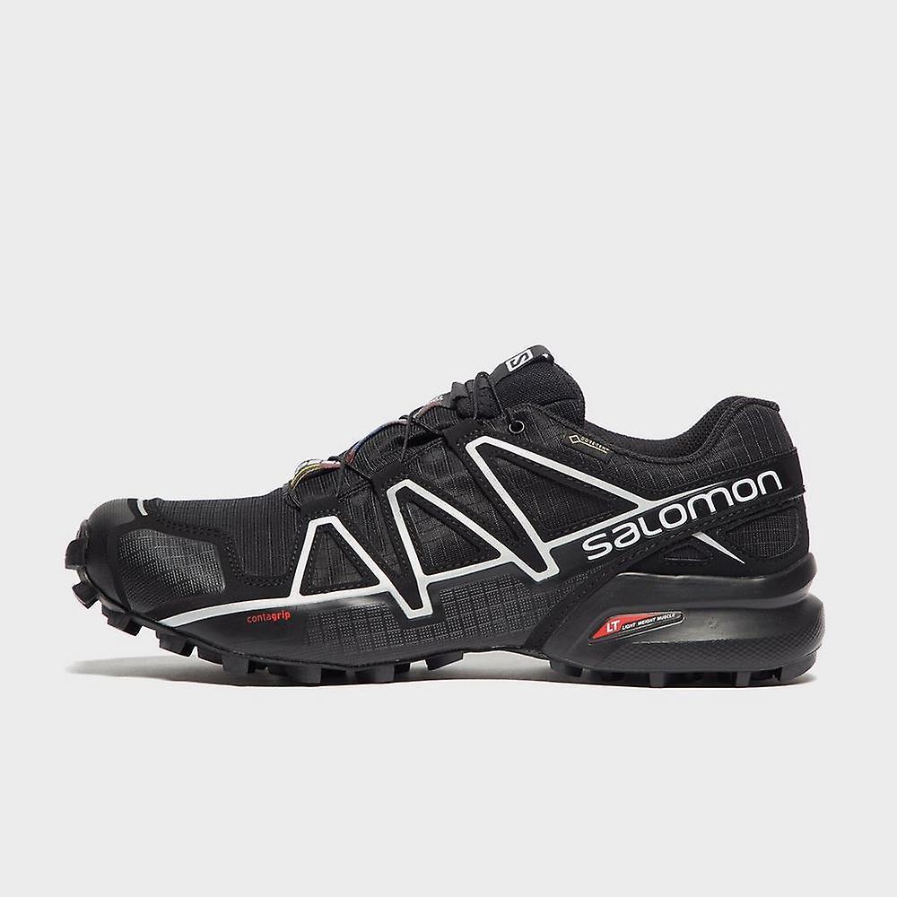 New Salomon Men's Speedcross 4 CS GTX Trail Running Shoes Black