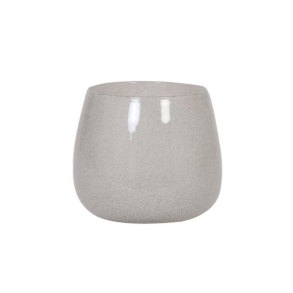 Lys & Levende Vase 26x22cm Mumbulla Glass Hvit