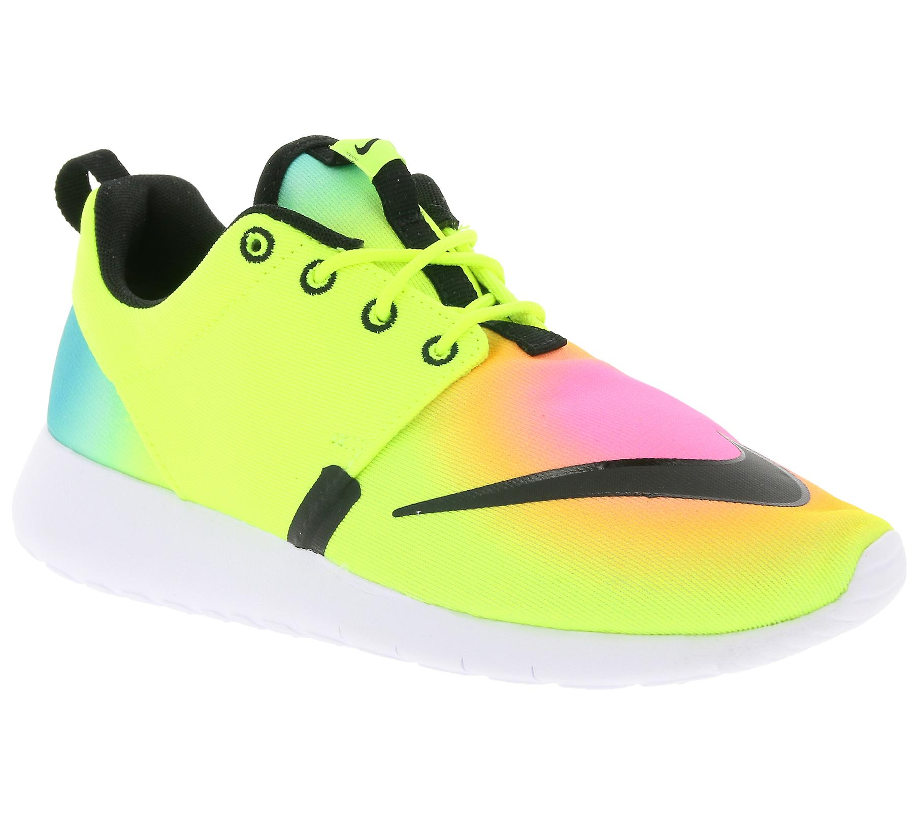 ba3286b42326 NIKE Roshe one FB (GS) kids sneaker multi coloured 810513 701