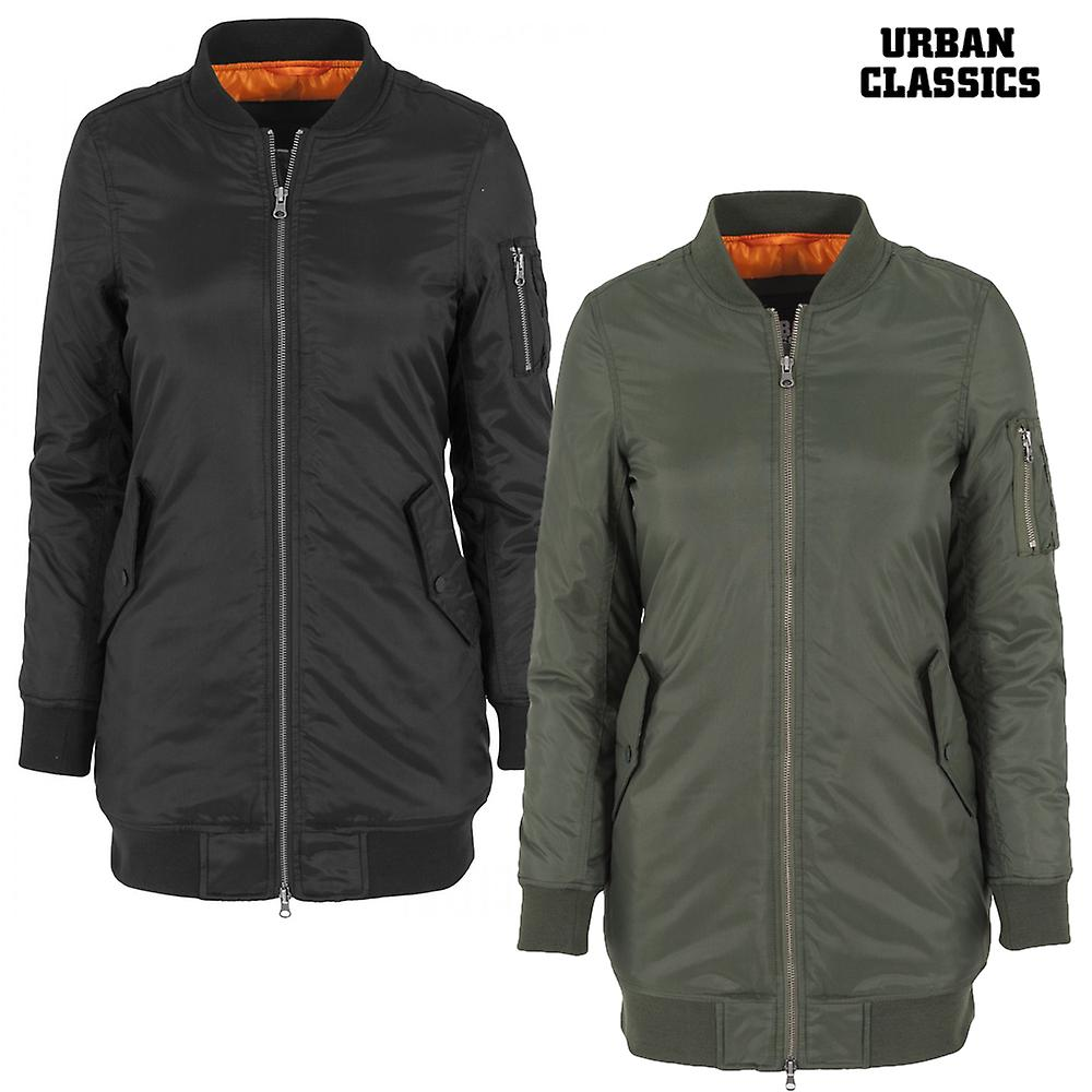 Urban Jacke Classics Damen Long Bomber wiOZukTlXP