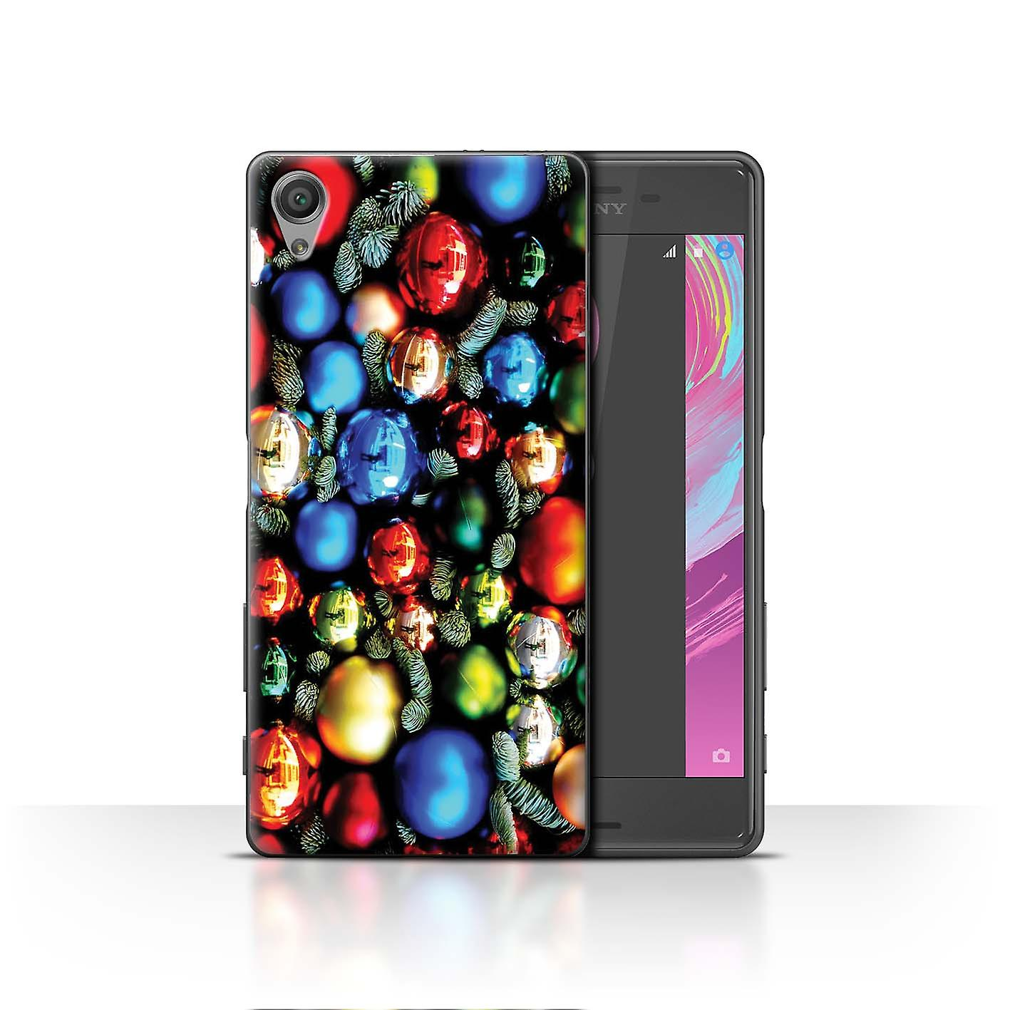 Stuff4 Phone Case Cover For Sony Xperia X Tree Decorations Design