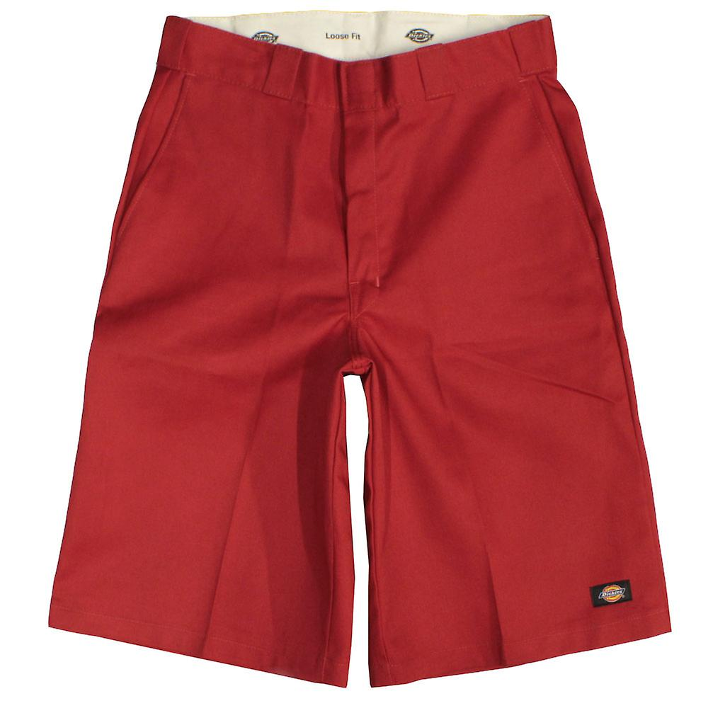 954d477e2b5 Dickies Men s 13 Inch Loose Fit Multi-Pocket Work Short Red