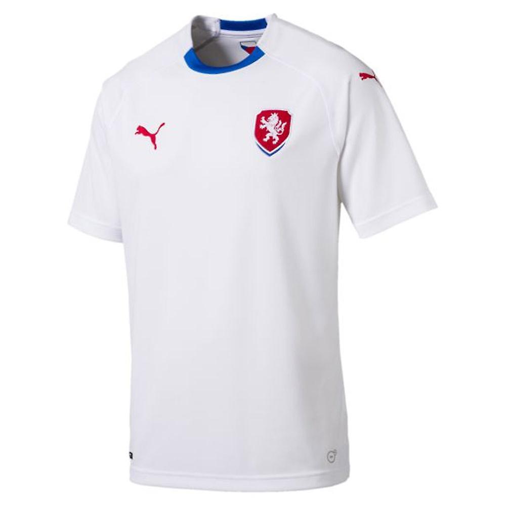 size 40 23e20 03ba1 2018-2019 Czech Republic Away Puma Football Shirt