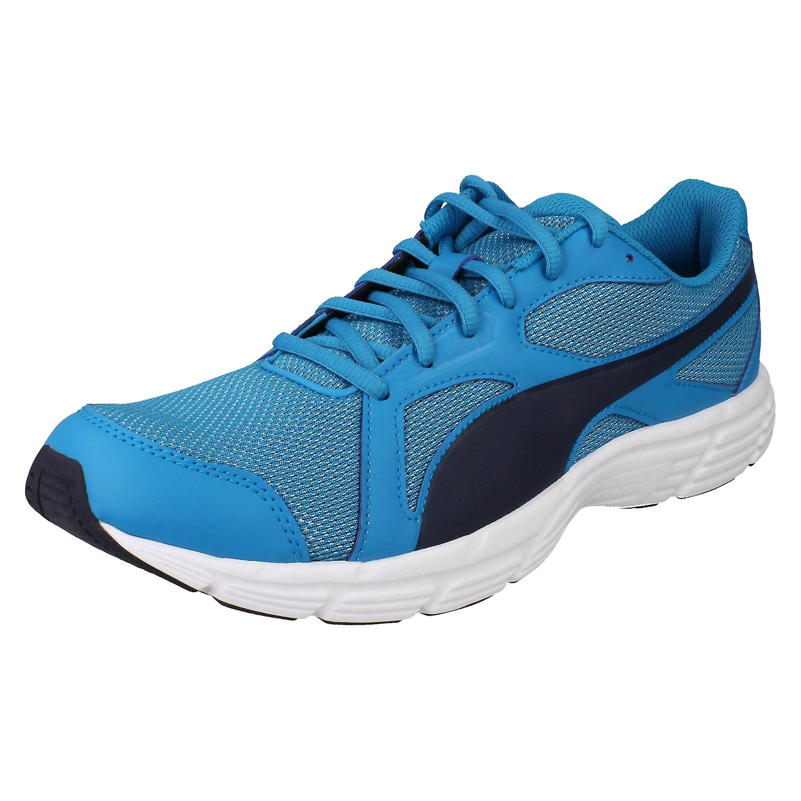 new concept e94f7 d9d4b Ladies Puma Lace Up Trainers Axis V4 Mesh 360581 - Atomic Blue/Peacoat - UK  Size 6.5 - EU Size 40 - US Size 7.5