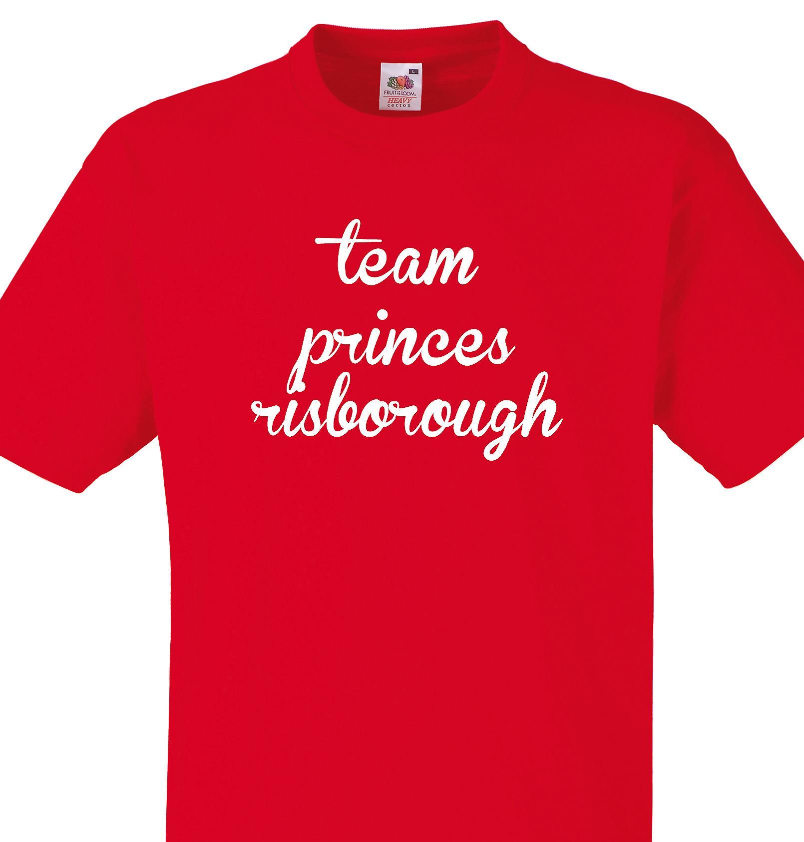 nyt udseende officiel butik nye lavere priser Team Princes risborough Red T shirt