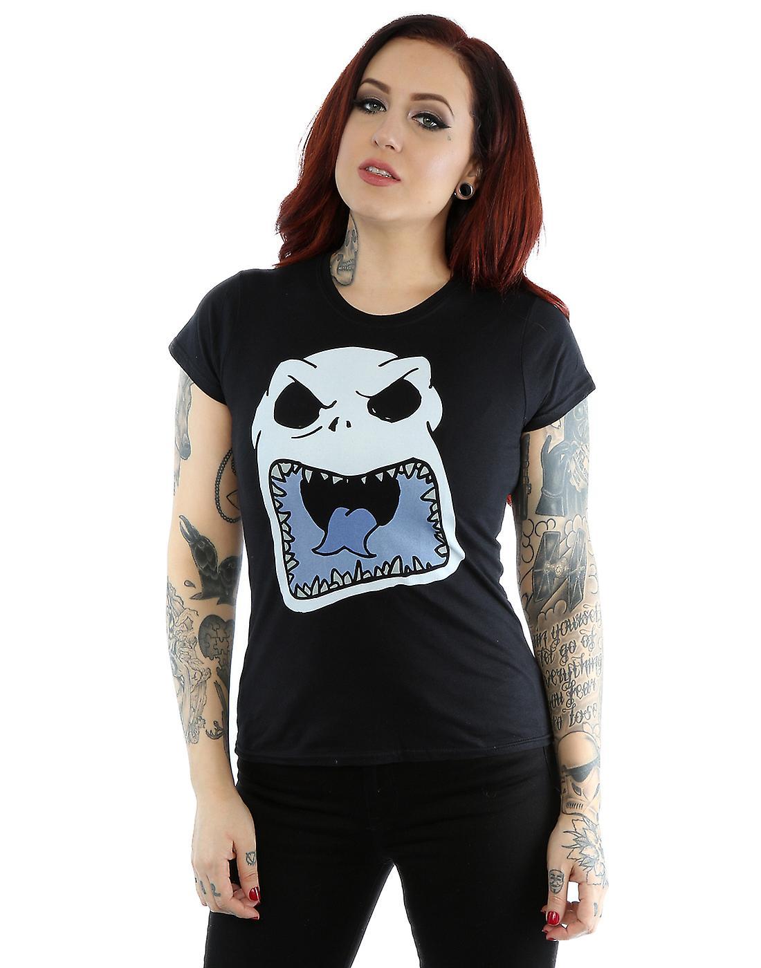 Halloween Jack Skellington Scary.Disney Women S Nightmare Before Christmas Jack Skellington Scary Face T Shirt