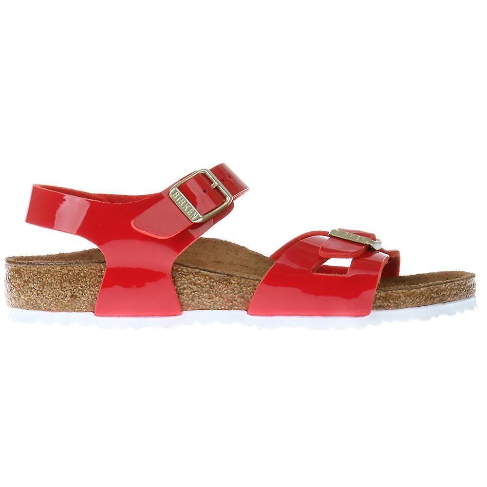 Birkenstock Rio Kids BF Patent Red 1005888 universal summer kids shoes 4875f0b80b7