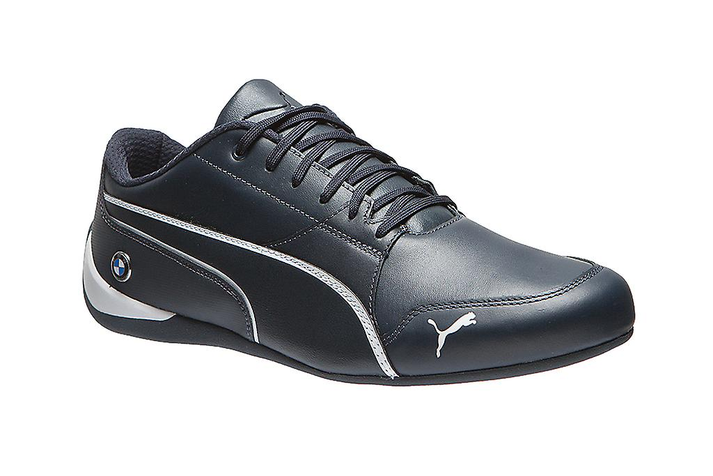 7a1e396a646 PUMA real leather sneaker BMW MS drift Cat 7 sneakers blue