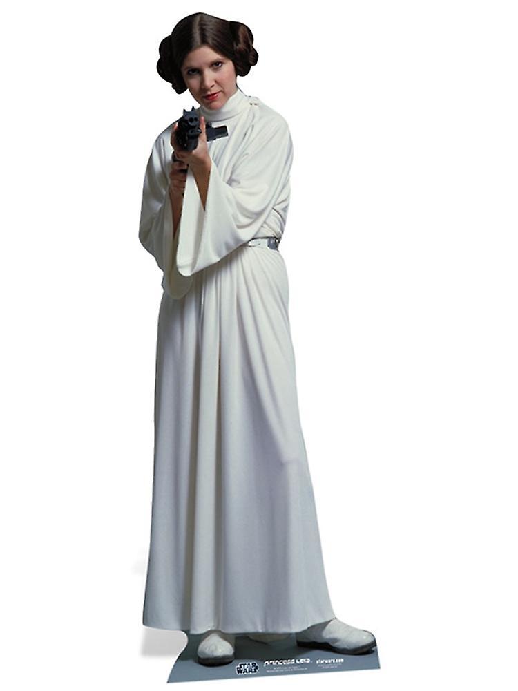 Prinsessan Leia Organa Star Wars officiella Lifesize kartong utklipp ... 261913195421e