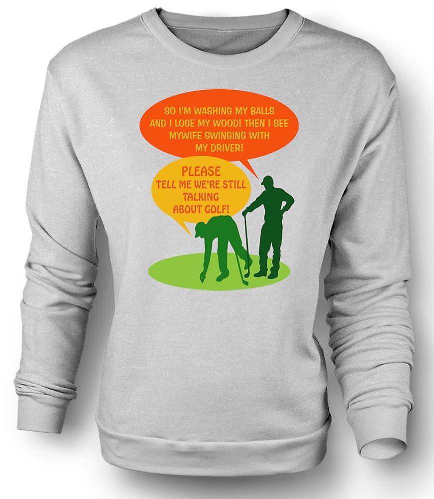 kinder sweatshirt golf witz im so waschen meine b lle fruugo. Black Bedroom Furniture Sets. Home Design Ideas