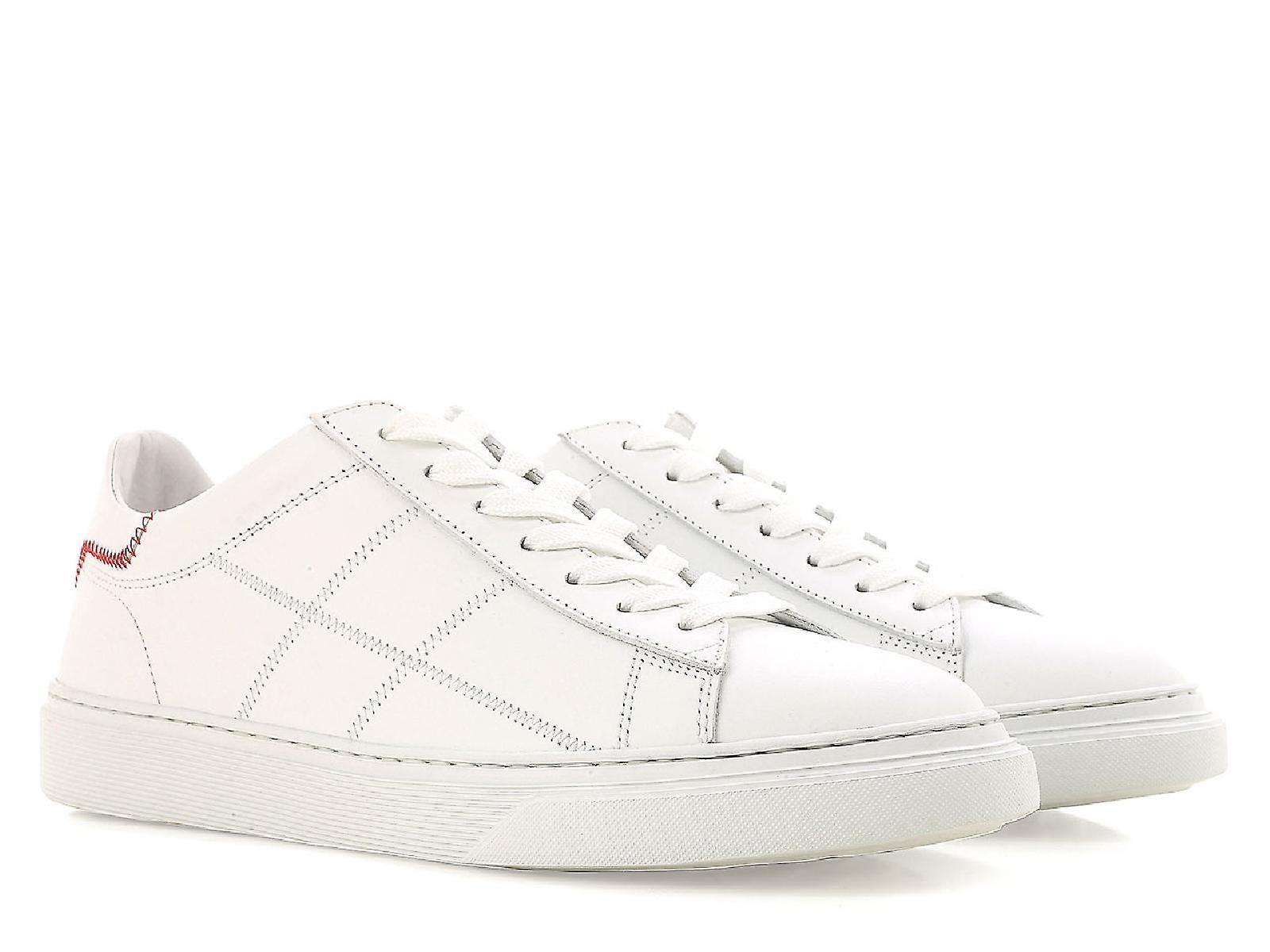 62674a81f4a Hogan lage top sneakers Damesschoenen in wit leder | Fruugo