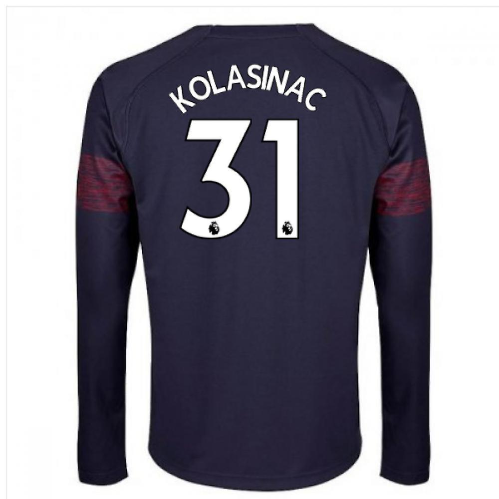 super popular 0f998 68ec6 2018-2019 Arsenal Puma Away Long Sleeve Shirt (Kolasinac 31)