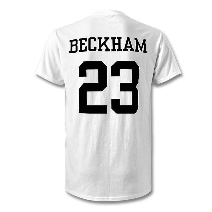 pretty nice e716c f9c7c David Beckham Real Madrid Legend Kids Hero T-Shirt