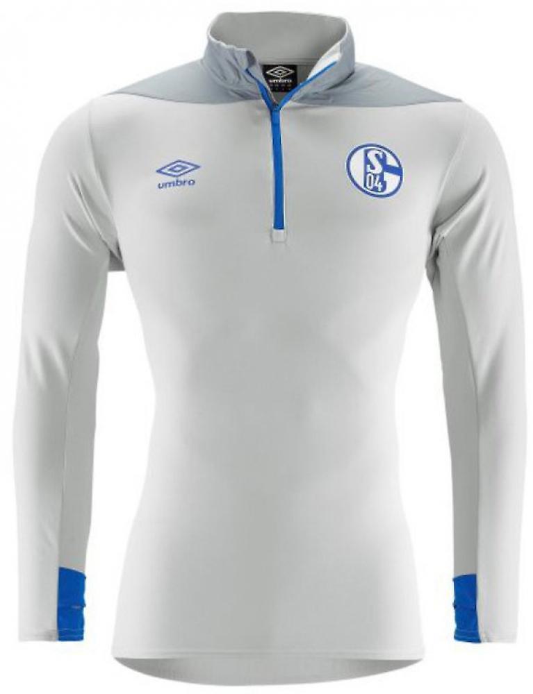 purchase cheap a15bc 05e3d 2018-2019 Schalke Umbro Half Zip Training Top (Grey)