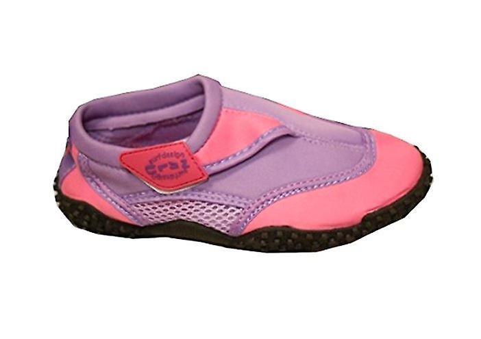 sko Surf barn sko svømme Pink Beach Aqua vann Toe størrelse 11 PZOikuX