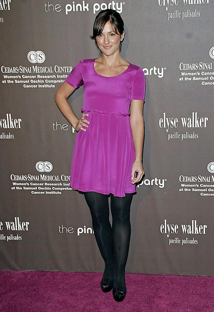 Minka Kelly At Arrivals For Elyse Walker Pink Party Benefit For  Cedars-Sinai WomenS Cancer Research Institute The Viceroy Hotel Los Angeles  Ca