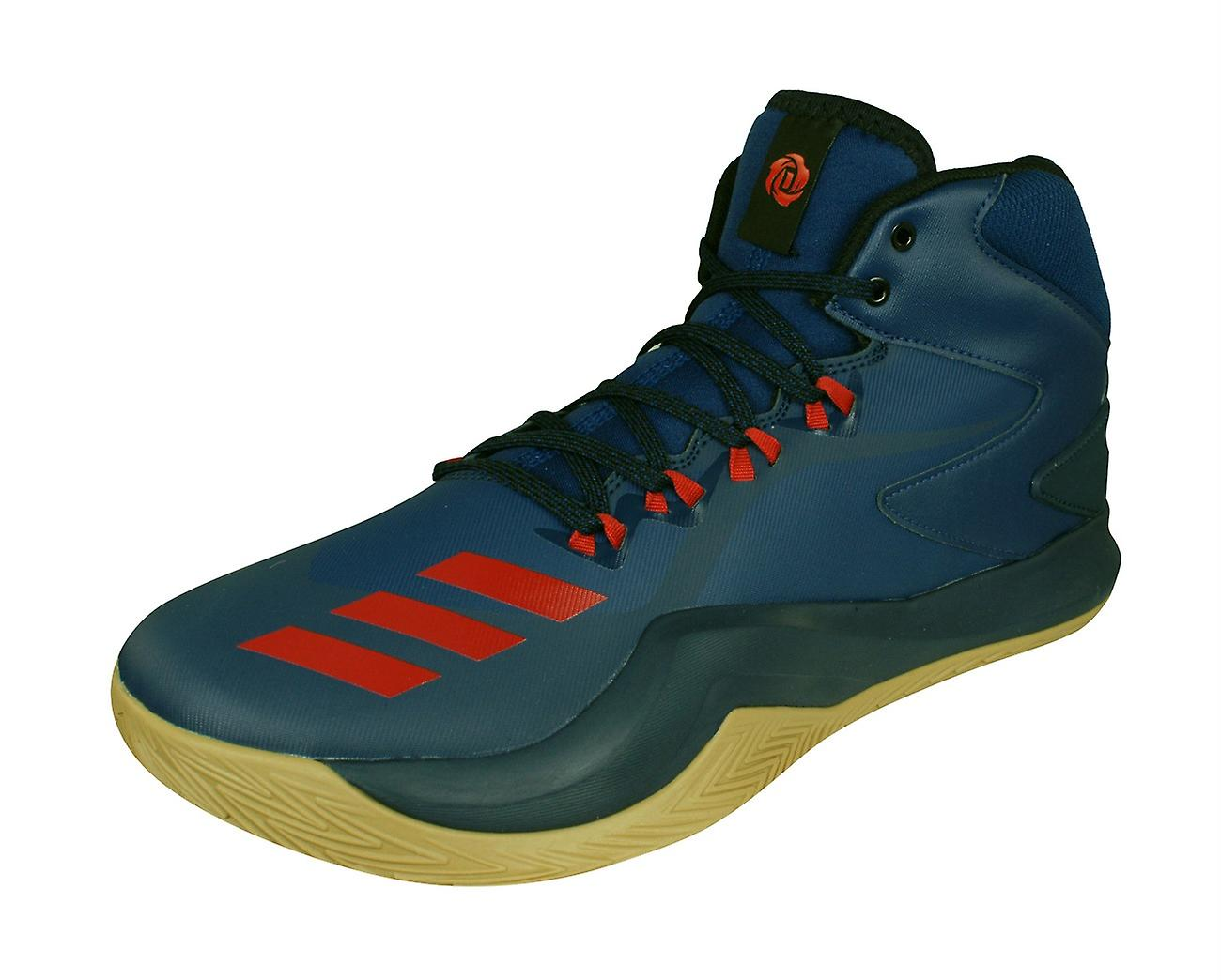 online store 6002b 802ba adidas D Rose Dominate IV Mens Basketball Trainers  Shoes - Blue
