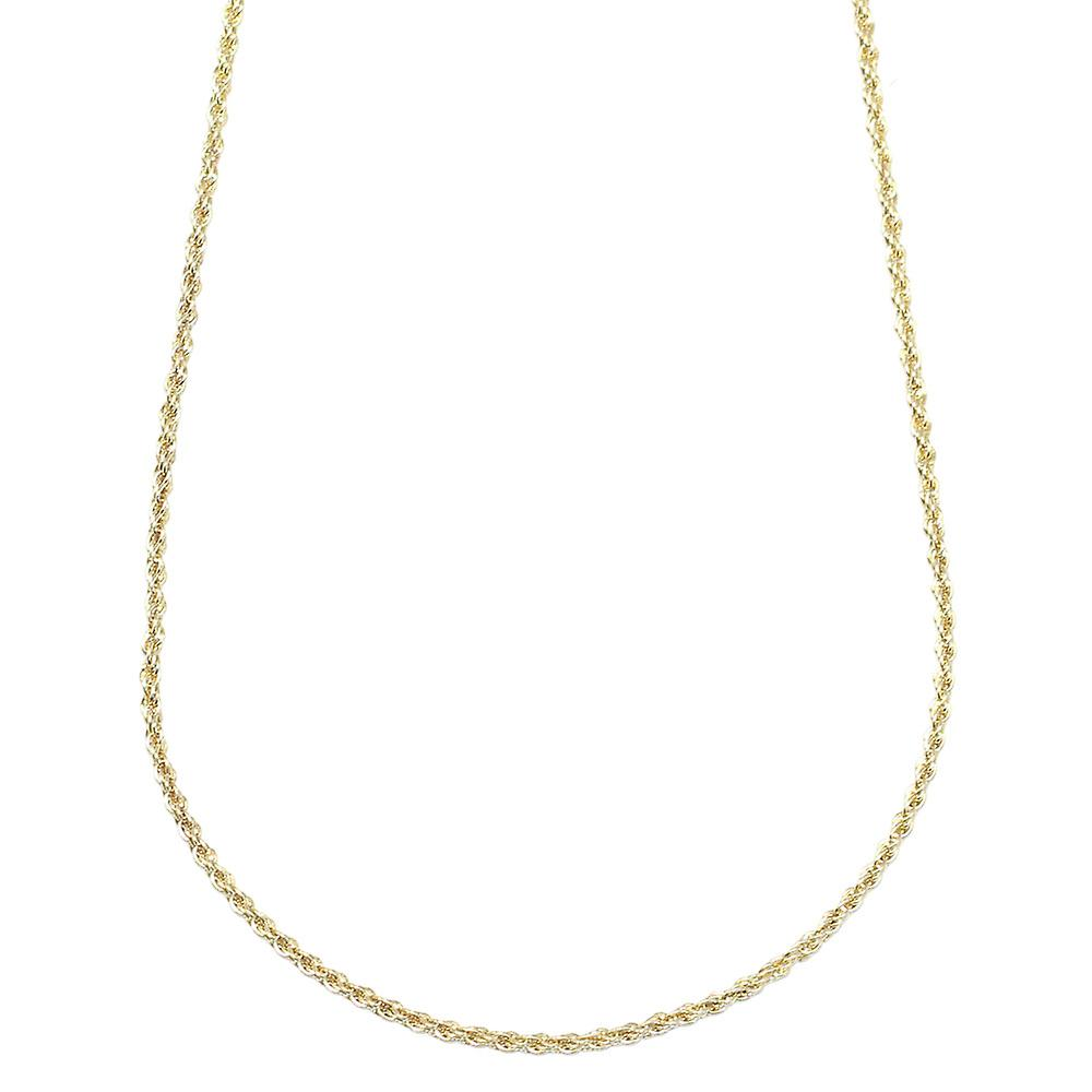 Gold Plated RUN DMC HIP HOP Rope Chain Dookie Chain FILLED 2mm X 24 Inches 2b351884806f