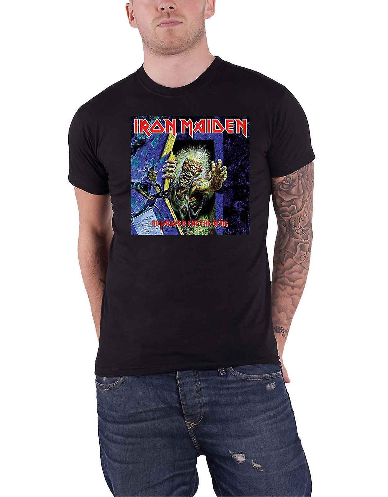 Iron Maiden T shirt ingen bøn for den døende Cover boks nye officielle Herre sort