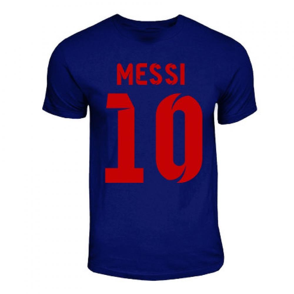 b22130d6334 Lionel Messi Barcelona Hero T-shirt (navy)