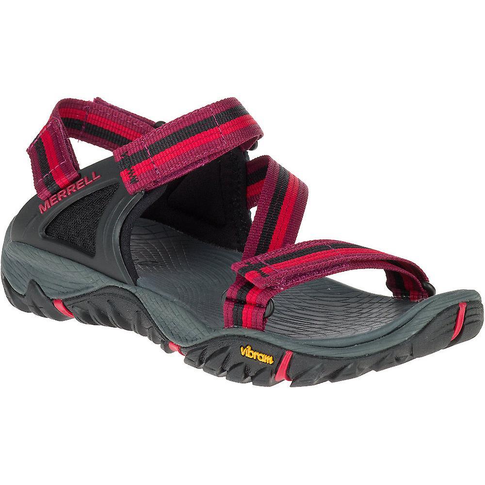 083fb275151d Merrell Womens Ladies All Out Blaze Web Mesh Strap Walking Sandals ...