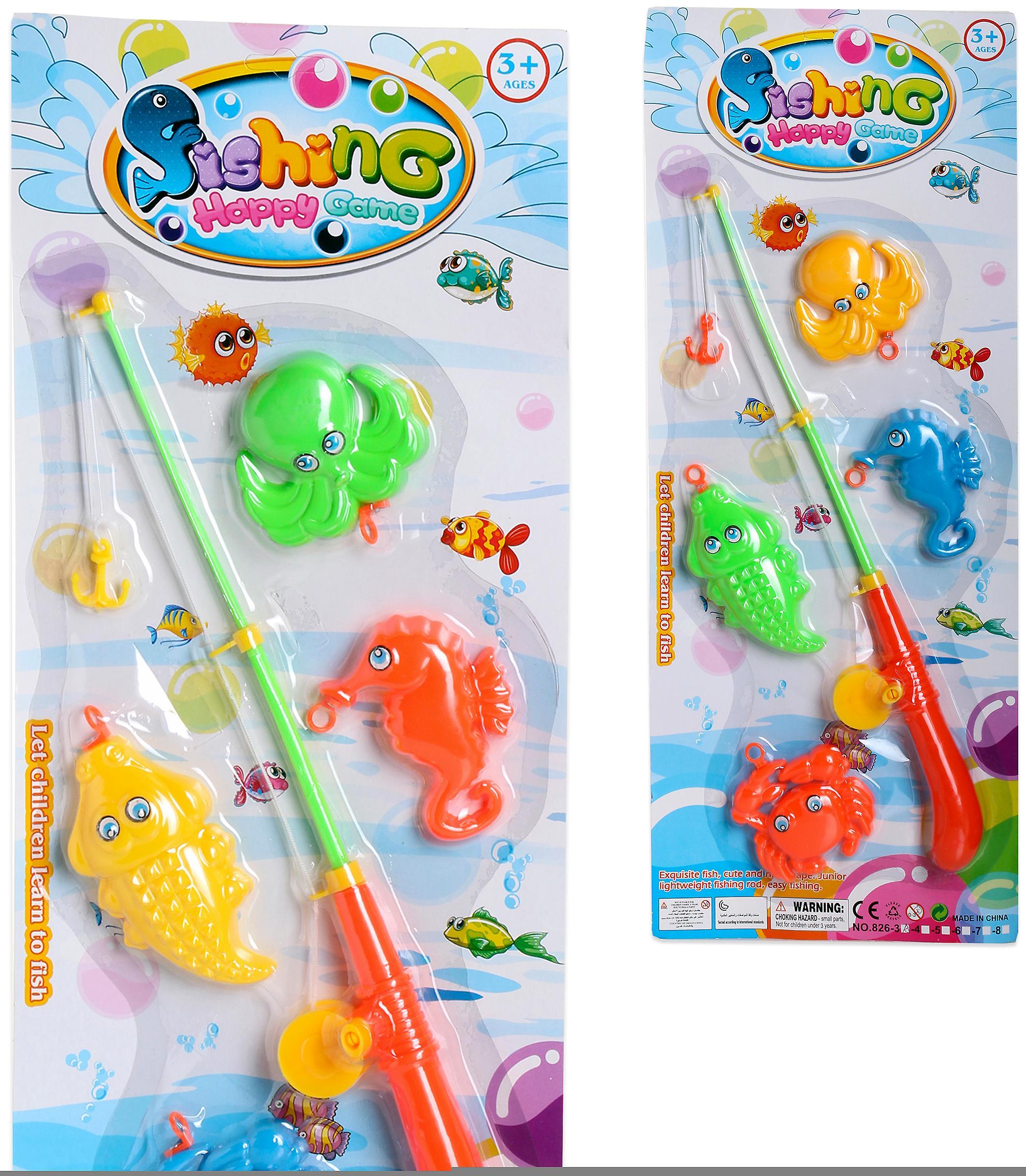 Import Angeln Fisch Spiel 4 Blister 53X22 (Babys und Kinder , Spielzeuge , Sonstiges)