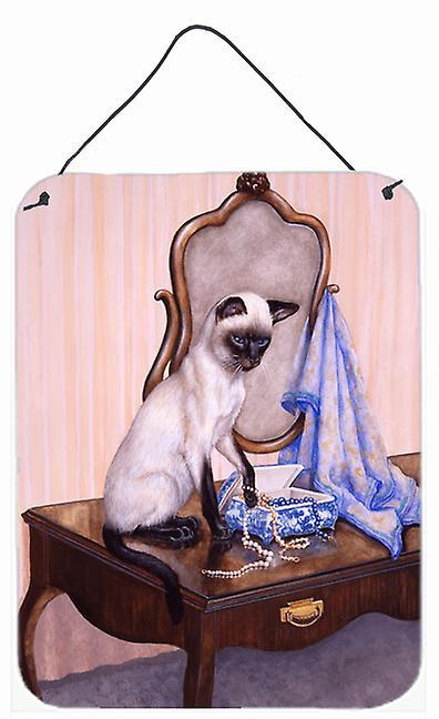 Auf Der Kommode Siamesische Katze Wand Oder Tur Hangen Drucke Fruugo