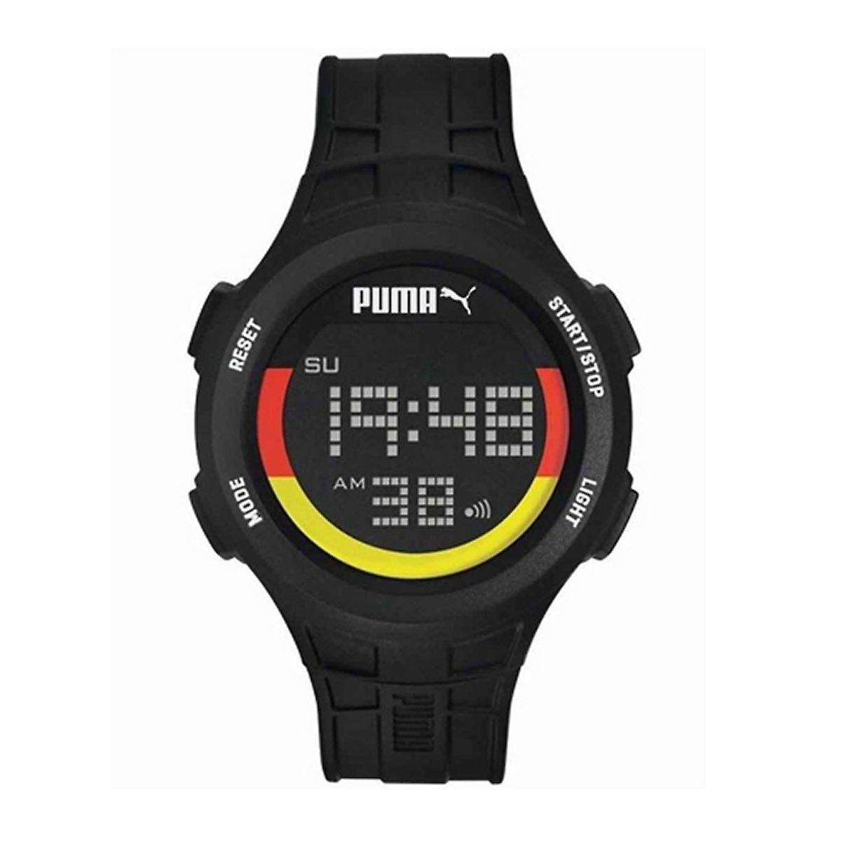 reputable site a427e 44550 プーマ時計腕時計メンズ ブラック デジタル PU911301012 の手首