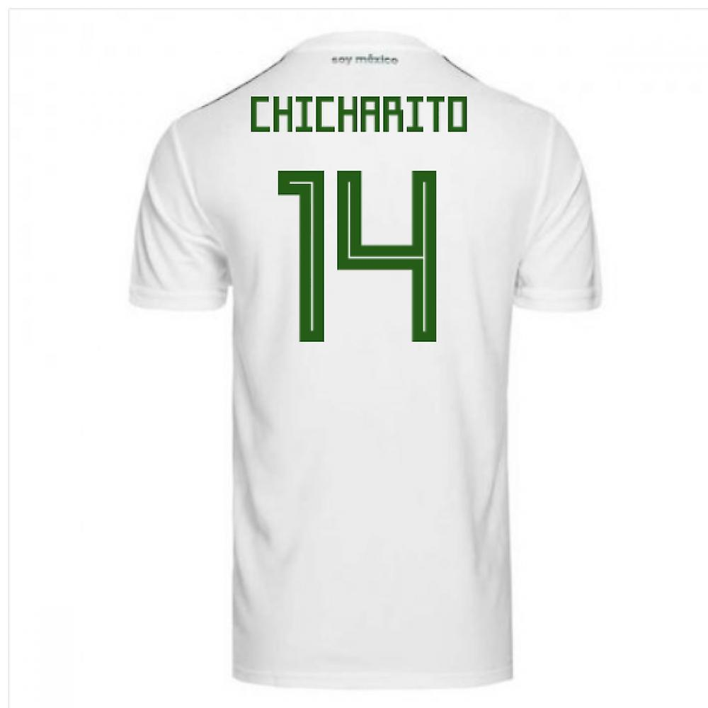 cb0d06c61057c 2018-2019 Mexico Away Adidas Football Shirt (Chicharito 14)