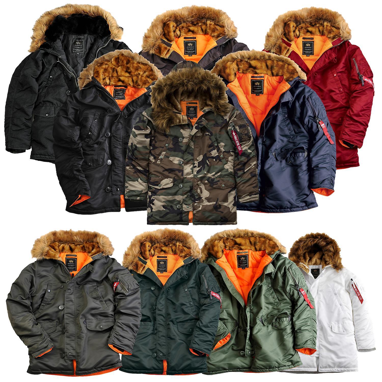 f08b3b61 Alpha industries men's winter jacket N3B VF 59 | Fruugo