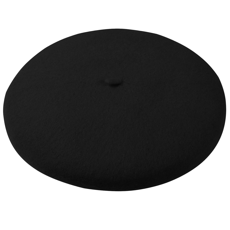 b14c00621c4 TRIXES French Beret Black Fancy Dress Theme Hat